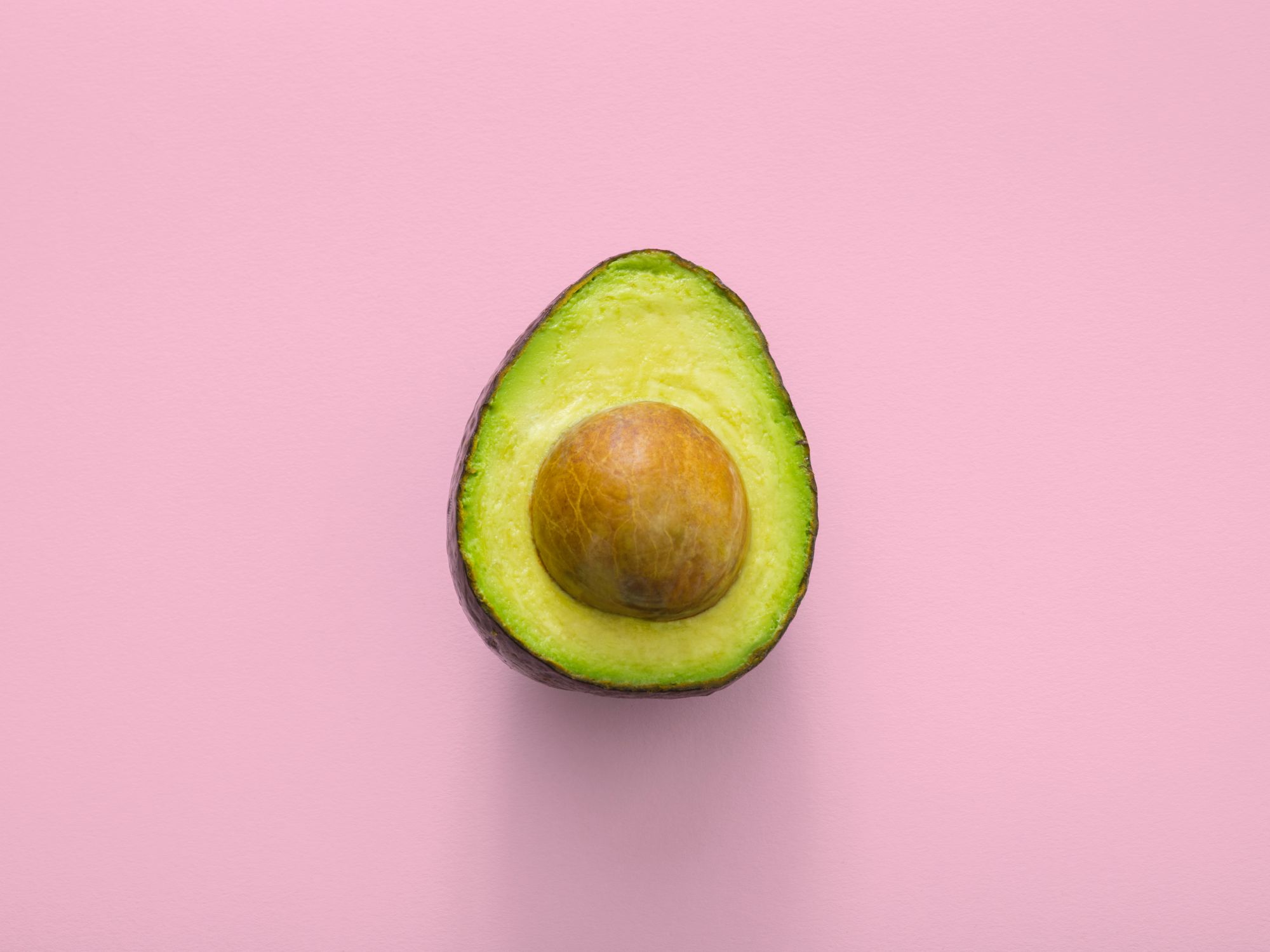 Can Dogs Eat Avocados? Photo of Avocado Cut in Half